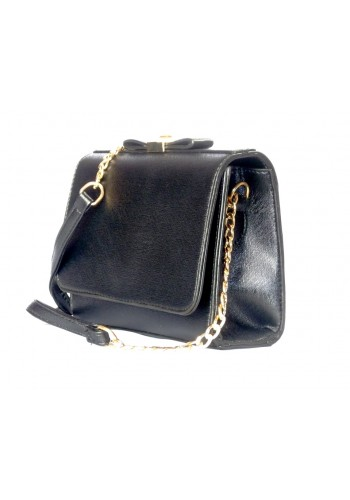 Elegant Shoulder Bag- Black