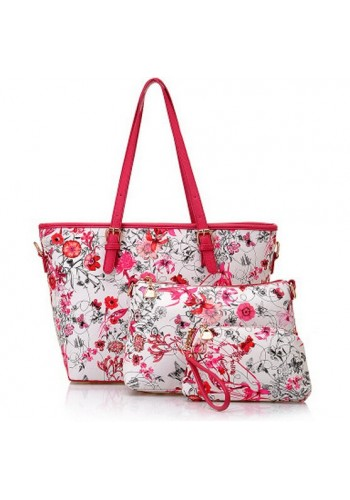 Tote Combo Bag Set  - Pink