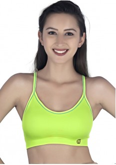 High Impact Racerback Sports Bra- Green