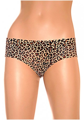 Low Waist Hip Enhancer Panty- Animal Print