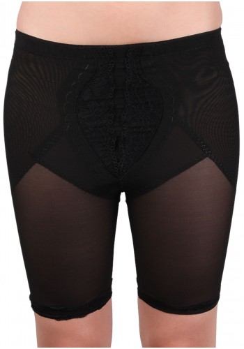 Belly and Thigh Slimmer- Black